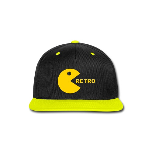 Packman retro snapback - Snap-back Baseball Cap