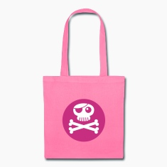 jolly roger, eye patch, skull and crossbones Bags & backpacks