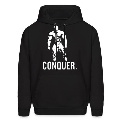 Conquer Hoodie (BLACK) - Men's Hoodie