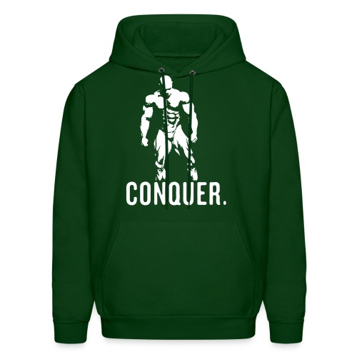 Conquer Hoodie (GREEN) - Men's Hoodie