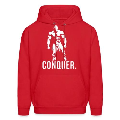 Conquer Hoodie (RED) - Men's Hoodie