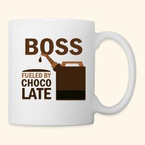 Boss Fueled By Chocolate Mug Gift - Coffee/Tea Mug