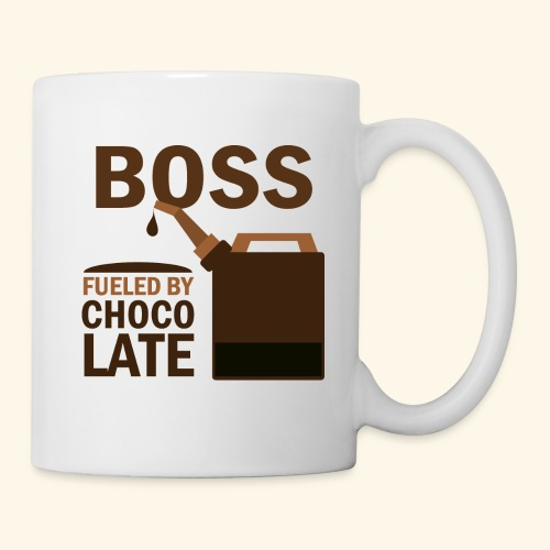 Boss Fueled By Chocolate Mug Gift - Coffee/Tea Mug