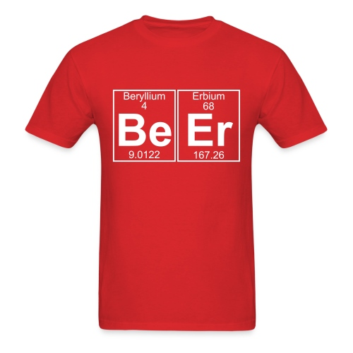 Be Er T-Shirt - Men's T-Shirt