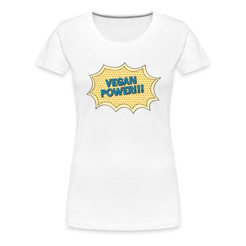 Vegan Power T - Women's Premium T-Shirt