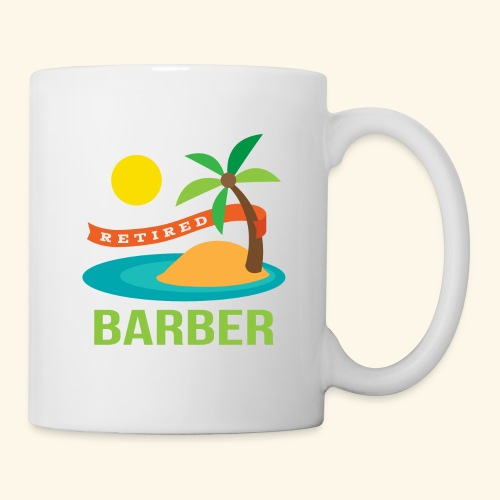 Retired Barber Gift Mug - Coffee/Tea Mug