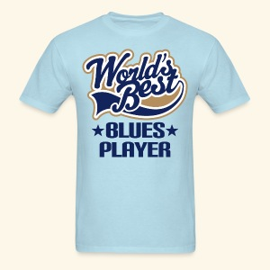 Blues Music Mens T-shirt world's best - Men's T-Shirt