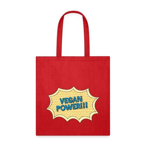 Vegan Power Bag - Tote Bag