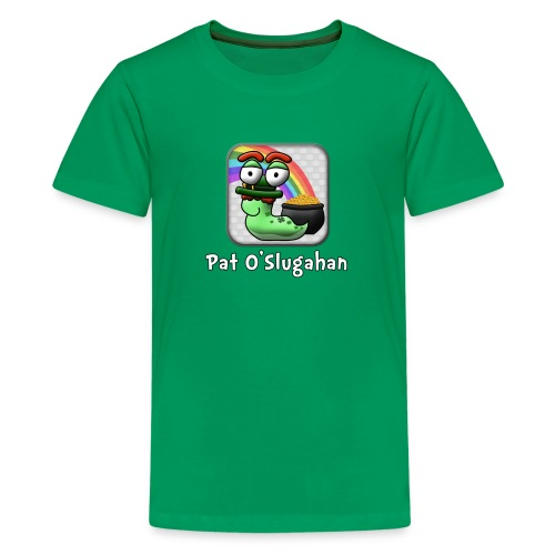 Word Slug St Patrick's Day Shirt - Kids' Premium T-Shirt