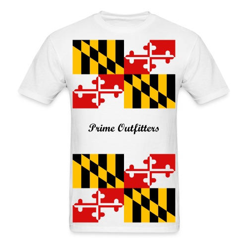 Prime Outfitters - MD Pride - Men's T-Shirt
