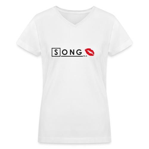 Song, Ph.D - Women's V-Neck T-Shirt