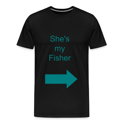 She's mine - Men's Premium T-Shirt