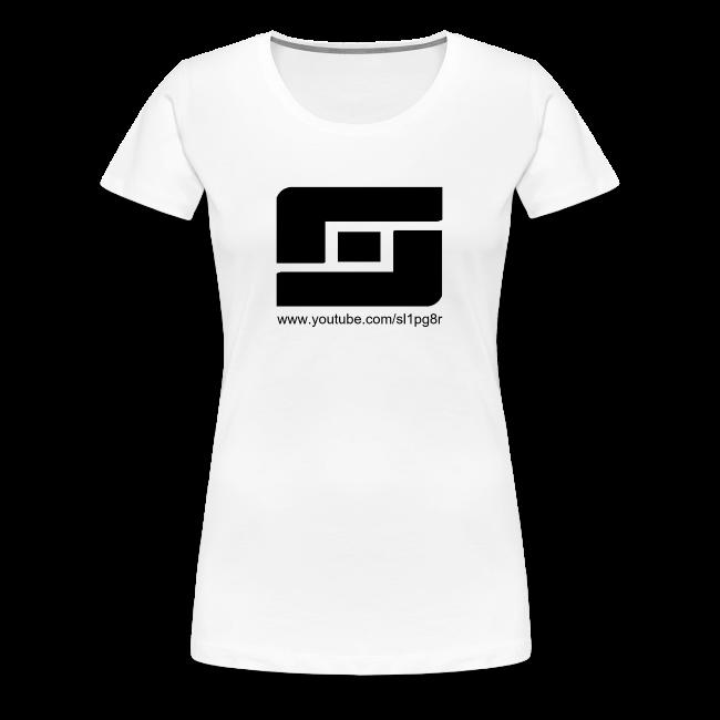 Women's Sl1pg8r Logo Black