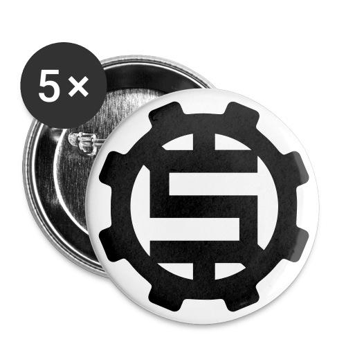1 No Dough Gear Buttons - Small Buttons