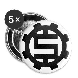 2.25 No Dough Gear Buttons - Large Buttons