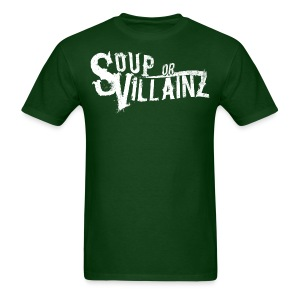Soup or Villainz Logo - Men's T-Shirt