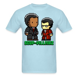 Soup or Villainz Pixels - Men's T-Shirt