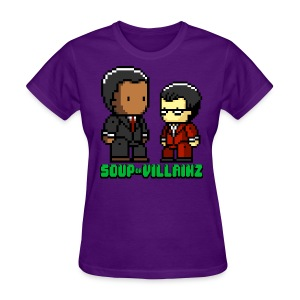 Soup or Villainz Pixels - Women's T-Shirt