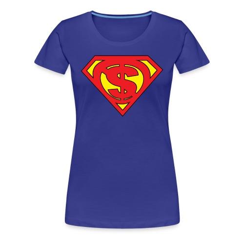 Solar Powered - Women's Premium T-Shirt