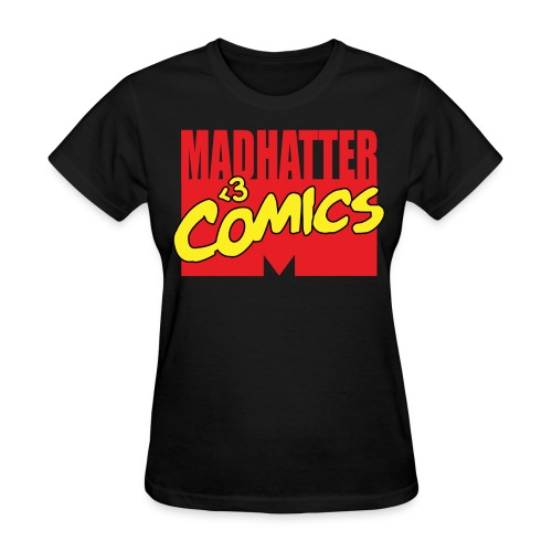 MadHatter Loves Comics - Women's T-Shirt