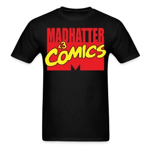 MadHatter Loves Comics - Men's T-Shirt