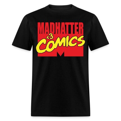 MadHatter Loves Comics - Men's T-Shirt