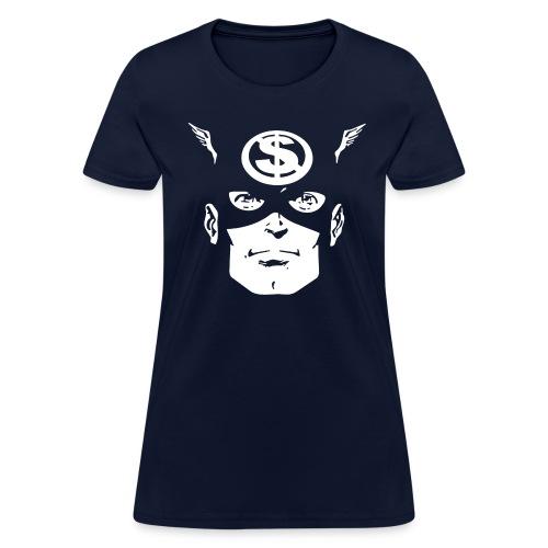 Cap'n Merca - Women's T-Shirt