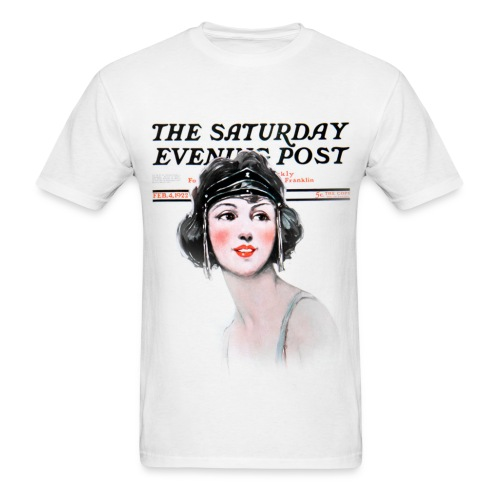 Vintage Saturday Evening Post #1 - Men's T-Shirt