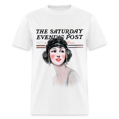 Vintage Saturday Evening Post #1 - Men's T-Shirt