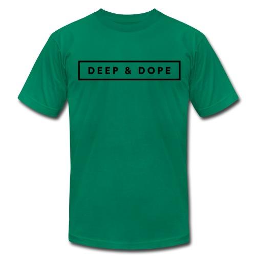 Men's Premium T-Shirt (Black Print)  - Men's Fine Jersey T-Shirt