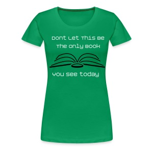 Book Boobs - Women's Premium T-Shirt