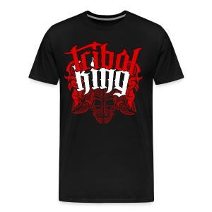 Tribal King Floral Design - Men's Premium T-Shirt