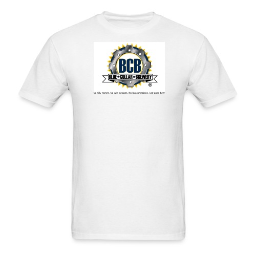 BCB Logo - Men's White T-Shirt - Men's T-Shirt