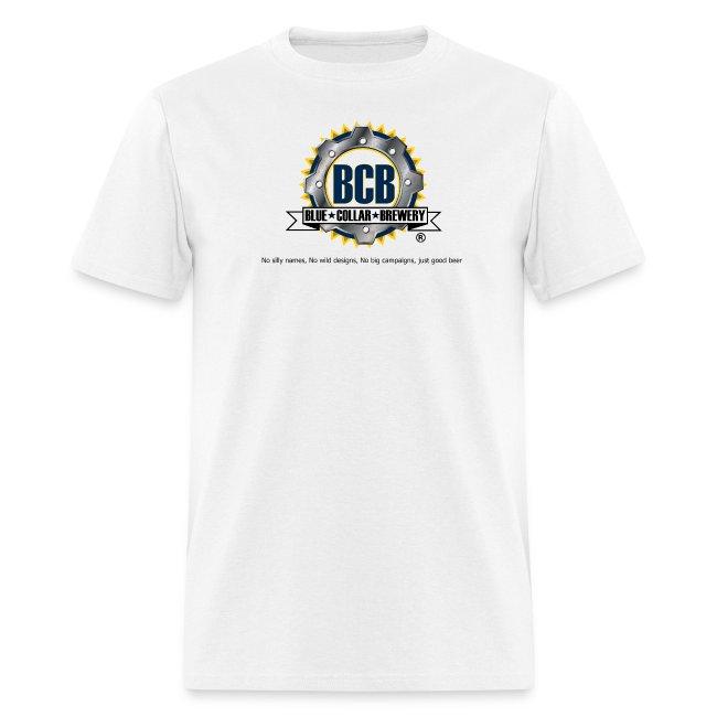 BCB Logo - Men's White T-Shirt