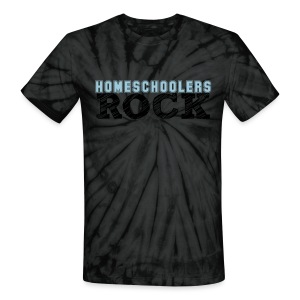 Homeschool Rocks - Unisex Tie Dye T-Shirt