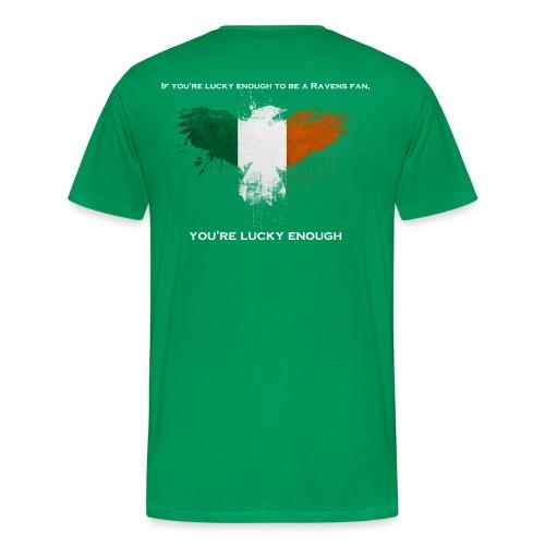 Lucky Ravens Men's - Men's Premium T-Shirt
