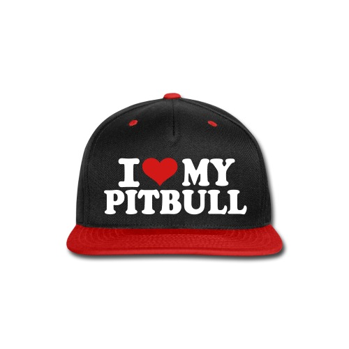 Pitbull Snapback - Snap-back Baseball Cap