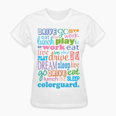 Colorguard Quote Women's T-Shirts