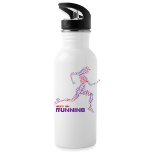 Keep on running Bottles & Mugs - Water Bottle