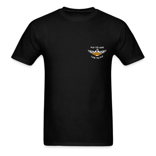 Keith Aero Men's Live to Fly TShirt - Men's T-Shirt