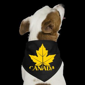 Canada Souvenir Dog Bandana Maple Leaf Gift - Dog Bandana