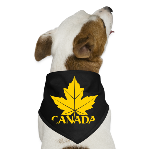Canada Souvenir Dog Bandana Maple Leaf Gift - Dog Bandana