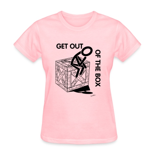 Think out of the box - Women's T-Shirt