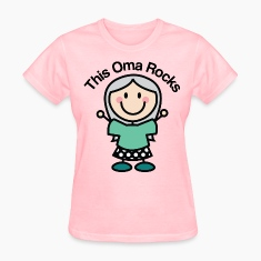 This Oma Rocks Women's T-Shirts