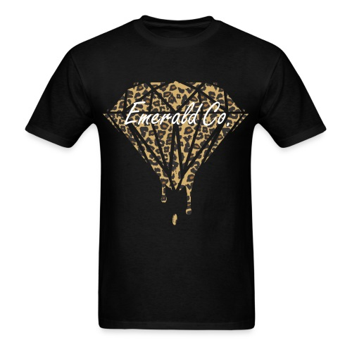 Cheetah Print Emerald Co. Men's T-Shirt - Men's T-Shirt