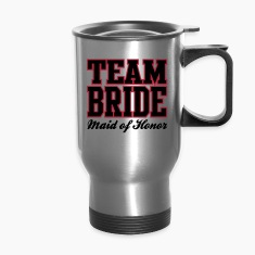 TEAM BRIDE: Maid of Honor Bottles & Mugs