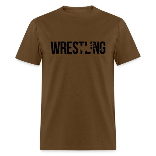 THE WRESTLING BURN - Men's T-Shirt