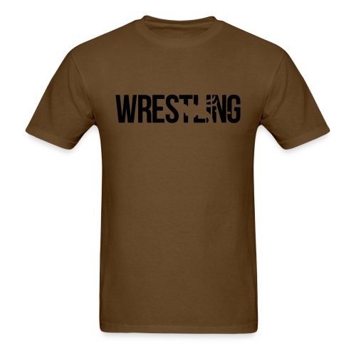 THE WRESTLING BURN - Men's T-Shirt