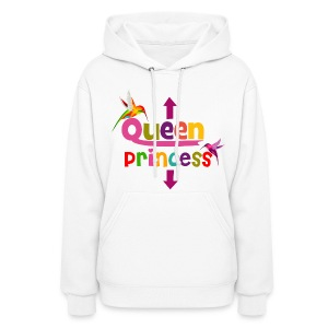 Queen and Princess Maternity Hoodies - Women's Hoodie
