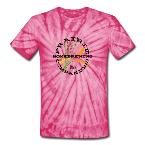 Pink Tie-Died PHC Beer Goddess shirt - Unisex Tie Dye T-Shirt
